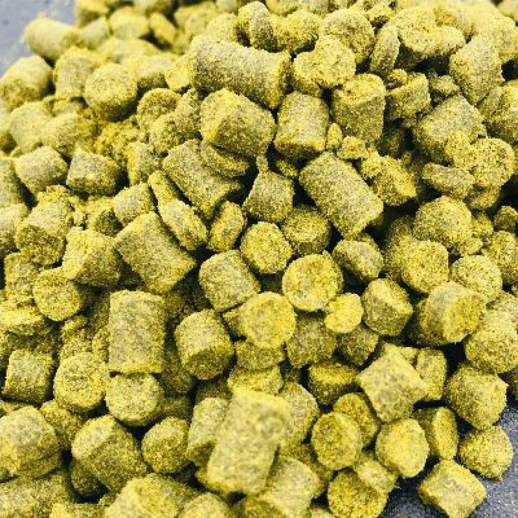 Photo of Jester T45 hop pellets