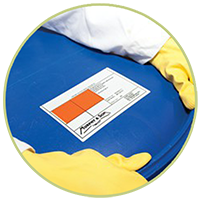 Photo of cleaning products used as an icon to click through to our hygiene page